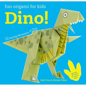 Bright Creative 3d Dinosaur Origami Book Children Diy Puzzle Game Thinking Training Origami Step Book Office & School Supplies