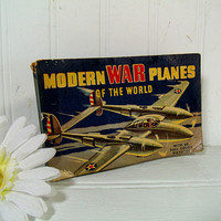 Modern War Planes Of The World by John B Walker With 60 Illustrations in Full Color / Modern War Planes Of The World 60 Full Color Pictures