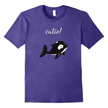 Cute Baby Orca Animal Shirt For Kids- Youth- and Adult