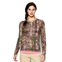 Under Armour Women's HeatGear EVO Camo Long Sleeve