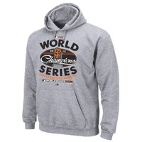 MLB San Francisco Giants 2012 World Series Champs Locker Room Hoodie, Steel Heather | deviazon.com