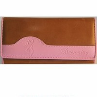 SPG's Browning Women's Leather Clutch Wallet