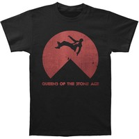 Queens Of The Stone Age Men's  Near Death Slim Fit T-shirt Black