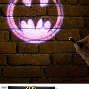Batman Bat Signal Mini Projection Flashlight