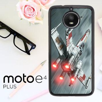 Star Wars X Wing L1796 Motorola Moto E4 Plus Case