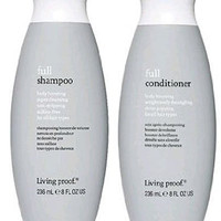 Living Proof, Full Conditioner and Full Shampoo, Two Bottle Set, 8 Oz Each
