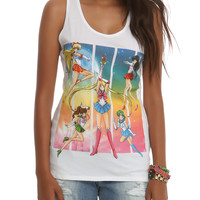 Sailor Moon Group Space Girls Tank Top