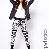 ASOS PETITE EXCLUSIVE Sweatpants In Aztec Print