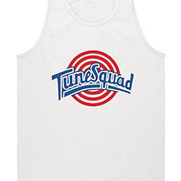 "Space Jam Tune Squad White ""Michael Jordan"" jersey TANK TOP ADULT 3XL"