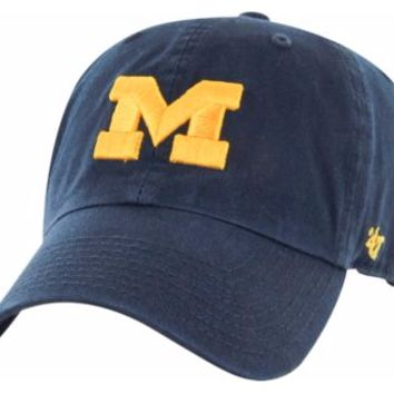 NCAA Michigan Wolverines Clean Up Adjustable Hat