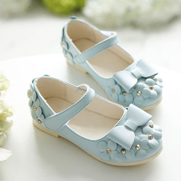 Tiny Baby Shoes | Western Sky Blue Ballerina