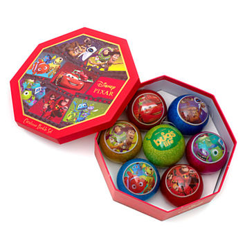 Disney Pixar Christmas Baubles, Set of 7 | Disney Store