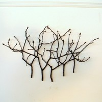 Hickory Hollow Wallscape by TheBentTreeGallery on Etsy