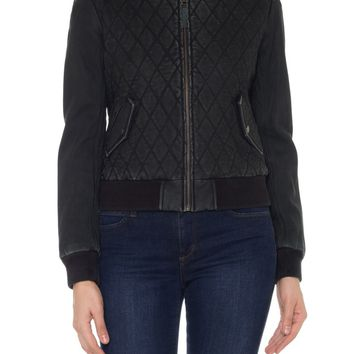 Joe's Leather Moto Jacket | Nordstrom