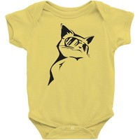 cool cat nature Baby Onesuit