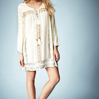 **EMBROIDERED SMOCK DRESS BY KATE MOSS FOR TOPSHOP