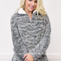 Candy Powder Fur Pullover | Pastels