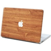 "Brown Maple ""Protective Decal Skin"" for Macbook 13"" Laptop"