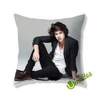 Harry Styles Square Pillow Cover