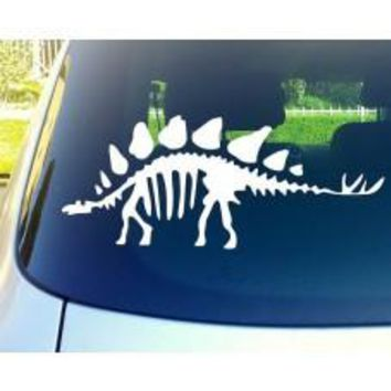 Dinosaur Skeleton Automobile Tablet Decal Tablet PC Sticker Wall Laptop mobile truck Notebook macbook Iphone Ipad Car Window Decal