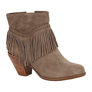 Gianni Bini Fay Fringe-Detail Booties | Dillards.com