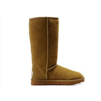 Ugg Boots Outlet Classic Tall 5815 Chestnut For Women 80 22
