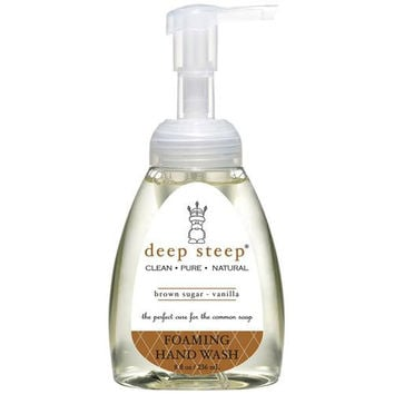 Deep Steep Foaming Hand Wash - Brown Sugar Vanilla - 8 Fl Oz