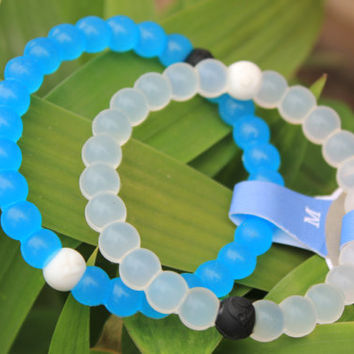 New S,M,L Lokai Silicone Bead Mud Water Bracelet Bangle