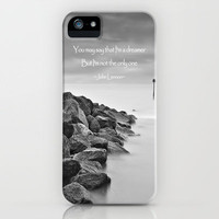 A Dreamer iPhone Case by Alice Gosling | Society6