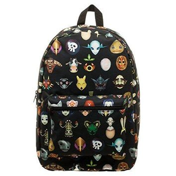 Bioworld The Legend of Zelda Majora's Mask Backpack