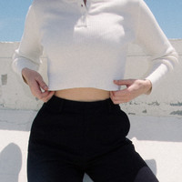 Delilah Knit Top - Long Sleeves - Tops - Clothing