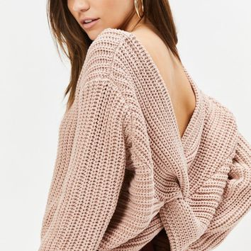 Cross Back Pullover Sweater | PacSun