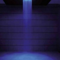 Crosswater Rio Spectrum Fixed Showerhead with Light and Ceiling Arm - Bathwise Ltd