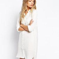 Vila Shirt Dress With Pocket Detail