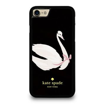 KATE SPADE SWAN iPhone 4/4S 5/5S/SE 5C 6/6S 7 8 Plus X Case