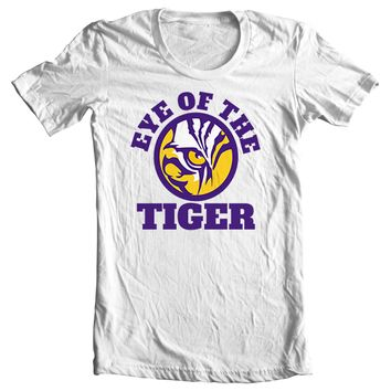 Eye of the Tiger - Purple & Yellow