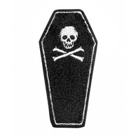Coffin Chenille Patch