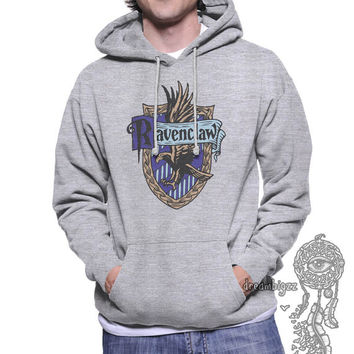 Ravenclaw Crest #2 Full Color printed on Unisex Hoodie