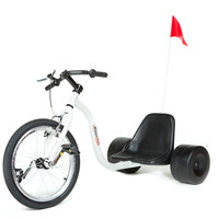 HILLKICKER PRO TRIKE FOR ADULTS - WHITE