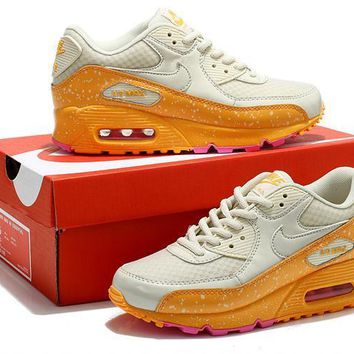 """Nike Air Max 90"" Women Sport Casual Multicolor Galaxy Air Cushion Sneakers Running Sh"