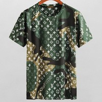 Louis Vuitton Fashion Casual Shirt Top Tee-25