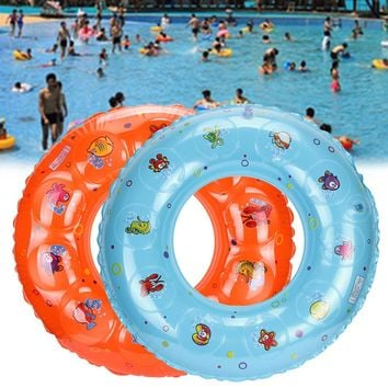 2017 NEW Hot Cute Kids Child 2017 New Infant Children Swimming Float Ring Bath Inflatable Circle Toy Gift Lake Beach Summer