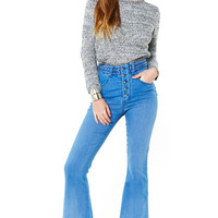 Dylan Stretch Denim Flares