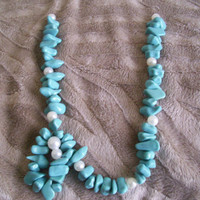 Turquoise All Time Classic Necklace  Minimal Chic by JirjiMirji