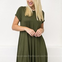 Stay Solid Pocket Dress | Solids