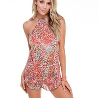 Luli Fama Untameable Backless Romper