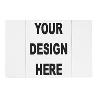 Customized Template Placemat