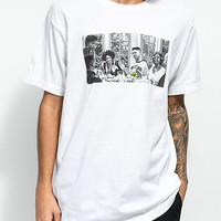 Cross Colours Prince Dinner White T-Shirt | Zumiez