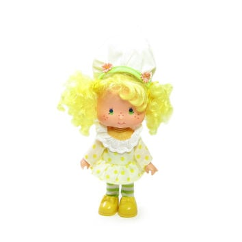 Lemon Meringue Doll Vintage Strawberry Shortcake Toy with Complete Outfit