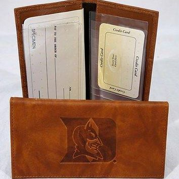 Duke Blue Devils NCAA Embossed Checkbook Cover